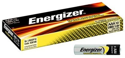Батарея LR3 AAA «Energizer» Industrial, 10 штук