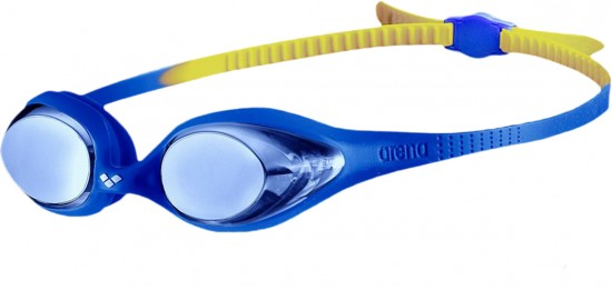 Очки Spider Jr Mirror, Blue/Blue/Yellow