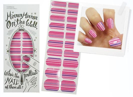 Наклейки для ногтей «Charming Sticker Nails», 06 Marseille Pink