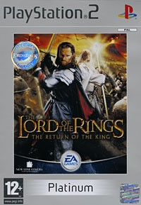 The Lord of the Rings: The Return of the King. Platinum (PS2)