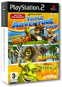 Dreamworks Triple Adventure Pack (PS2)