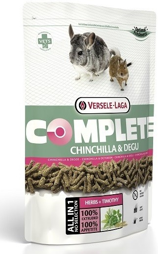 Корм для шиншилл и дегу «Complete Chinchilla & Degu» (500 г)