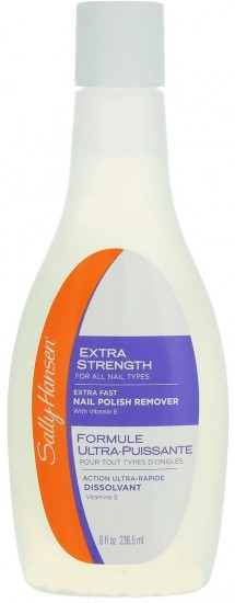Жидкость для снятия лака «Extra Strength For All Nail Types - Extra Fast Polish Remover»