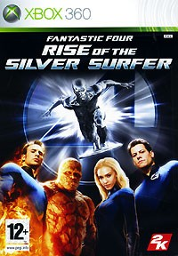 Fantastic Four: Rise of the Silver Surfer (Хbox 360)