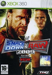 WWE SmackDown vs. Raw 2009 (Xbox 360)