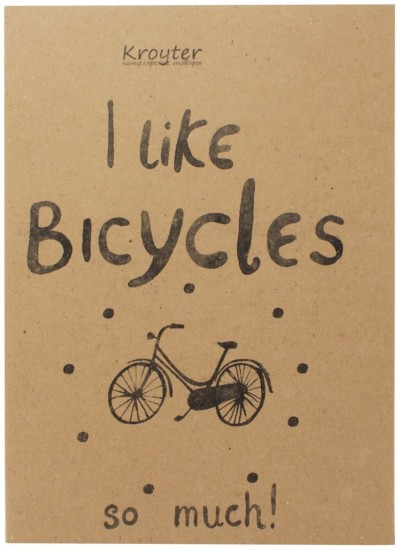 Тетрадь «I Like Bicycles» (40 листов, А5)