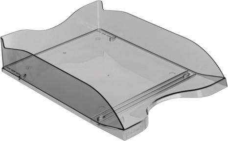 Лоток для бумаг ЭКОНОМ горизонтальный сетчатый серый ЛТ501