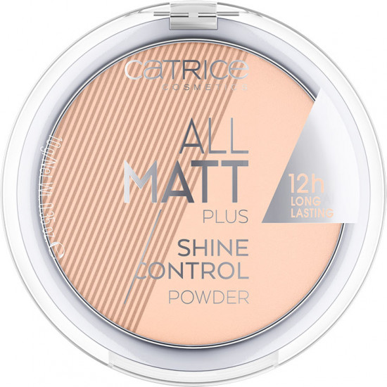 Пудра «All Matt Plus Shine Control», оттенок 025 Sand Beige
