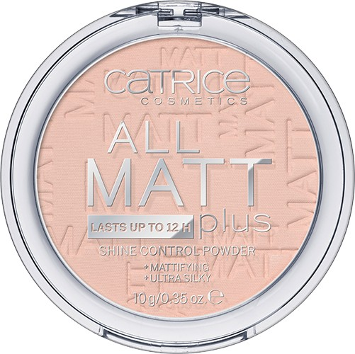 Пудра «All Matt Plus Shine Control», оттенок 015 Natural beige