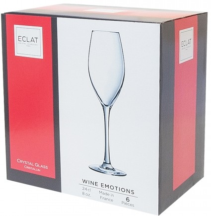 Фужер для шампанского Wine Emotions, 240 мл (6 шт)