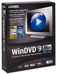 WinDVD 9 Plus Blu-ray IE