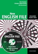 New English File Intermediate. Teacher's Book with Test and Assessment CD-ROM