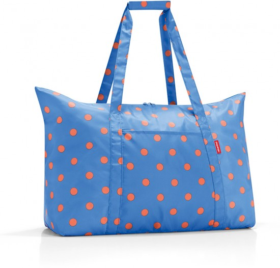 Сумка складная «Mini maxi travelbag», azure dots