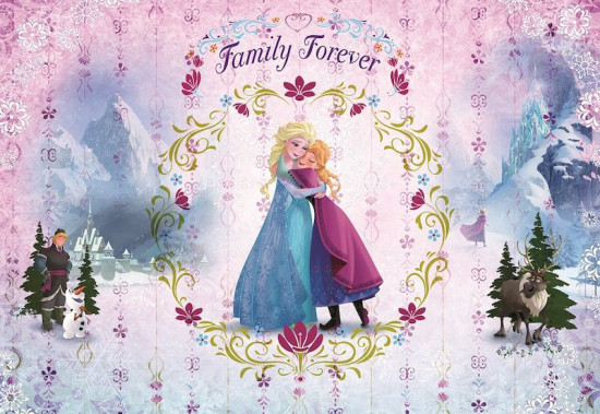 Фотообои «Frozen Family Forever» (368 х 254 см)