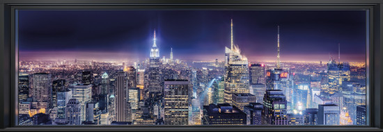 Фотообои «Sparkling New York» (368 х 127 см)